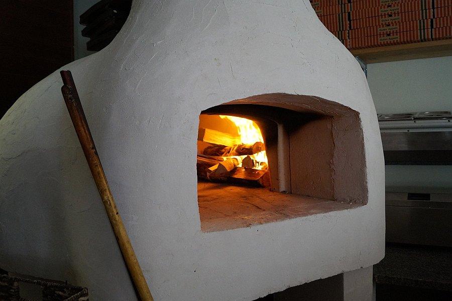 Ofen Pizza Backofen